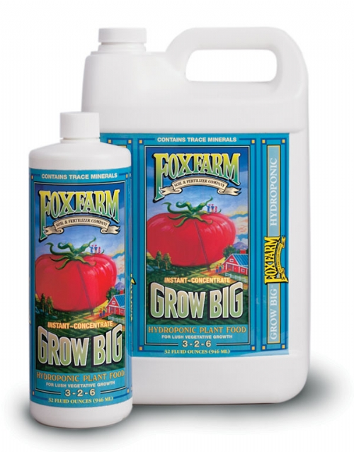 FoxFarm Grow Big, 3-2-6  32oz (hydroponic)