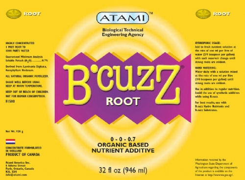 B'cuzz Root,  12oz.